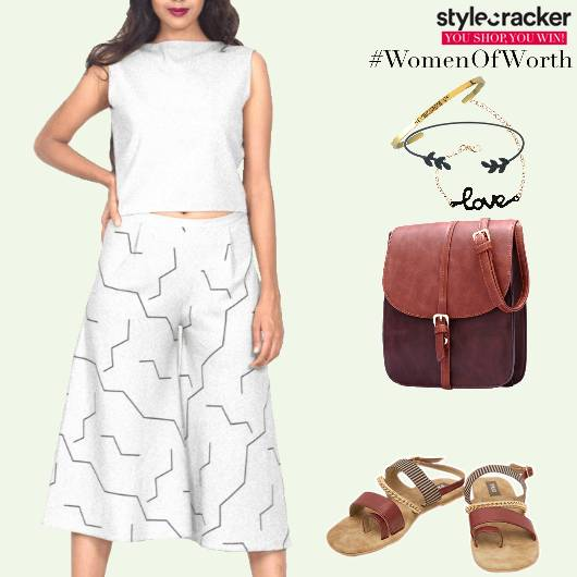 Casual DayOut Shopping Culottes  - StyleCracker