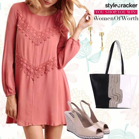 Dress Slingbacks  Casual Brunch - StyleCracker
