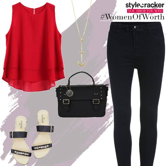 Casual Lunch Top Embellished Flatforms - StyleCracker