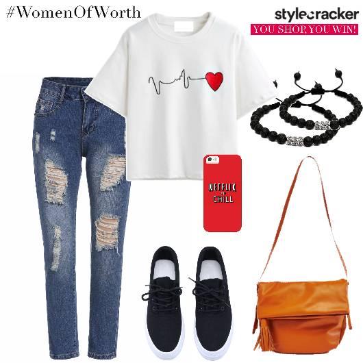 Tshirt Jeans Sneakers Basics Travel - StyleCracker
