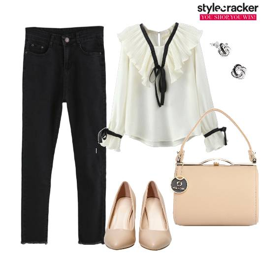 Blouse Pants Workwear  - StyleCracker