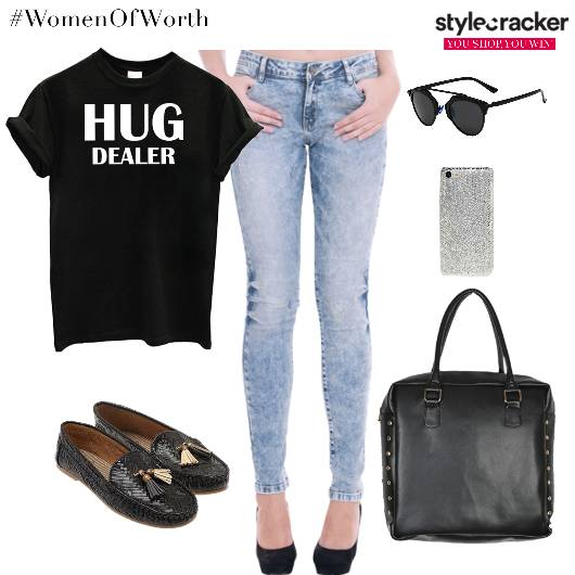 QuotedTop Denim Bag Sunglasses PhoneCover - StyleCracker