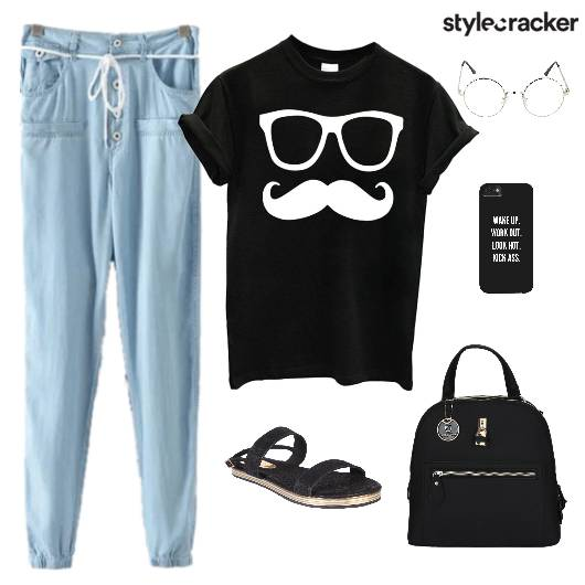 Casuals TShirt Pants Bag Footwear - StyleCracker