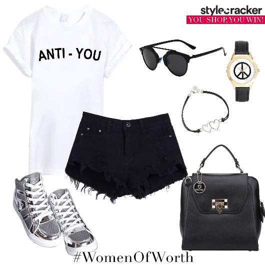 Tshirt Shorts Casual Summer - StyleCracker