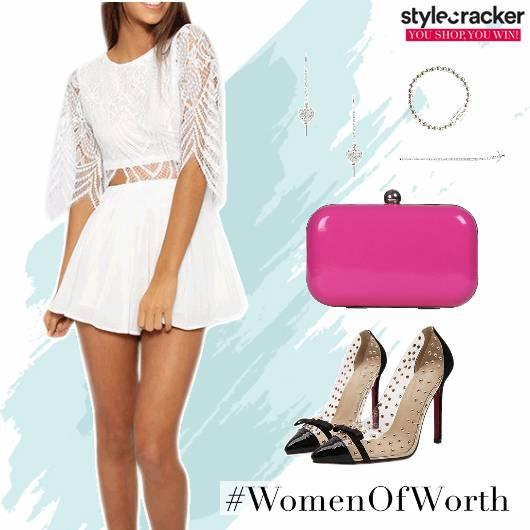 Playsuit Party Lace  - StyleCracker