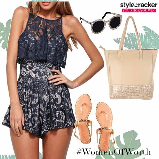 Playsuit Flats Tote Sunglasses Summer  - StyleCracker