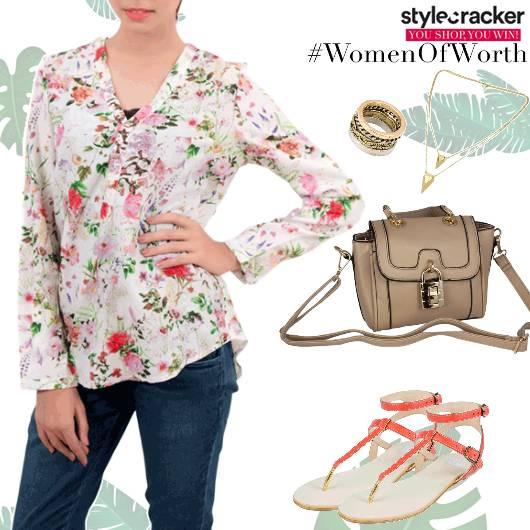 Casual DayWear Floral Shirt - StyleCracker