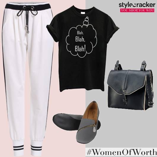 Casual Joggers Graphic T-shirt - StyleCracker