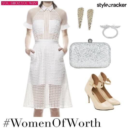 Mesh Collar Dress Night Party - StyleCracker