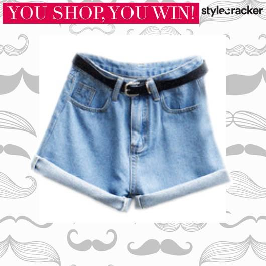 SCLOVES Denim Shorts - StyleCracker