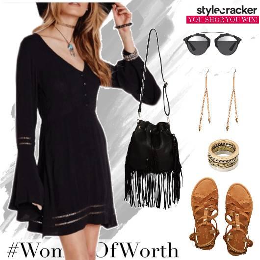 VNeck Summer Dress  Beach - StyleCracker