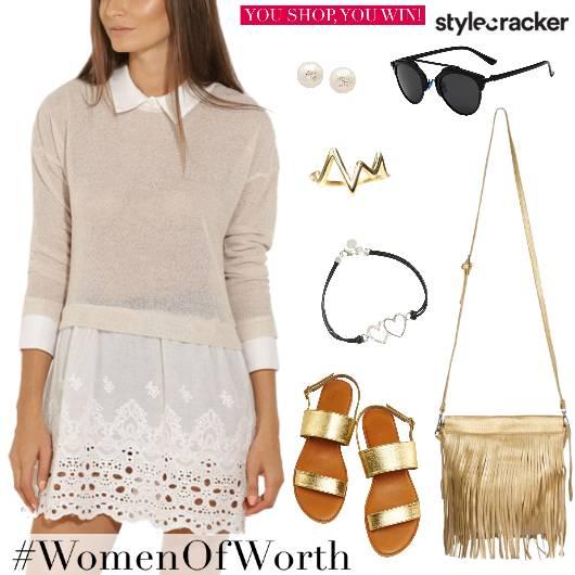 Lace Dress Day Summer  - StyleCracker
