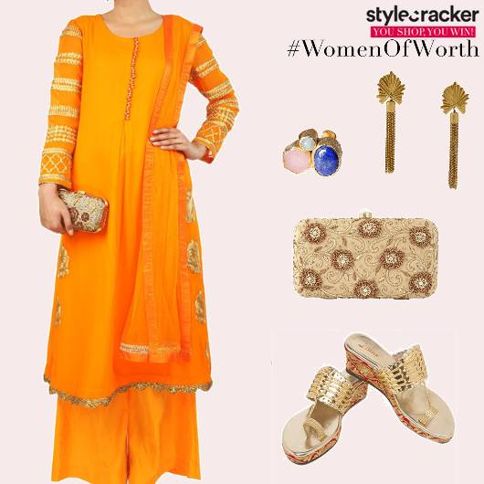 Festive Indian Anarkali PalazzoPants - StyleCracker
