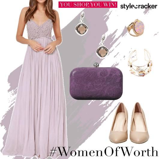 Lace Long Dress Summer Party - StyleCracker