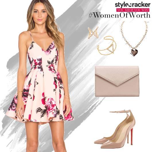 FloralPrint Dress Summer Lunch - StyleCracker