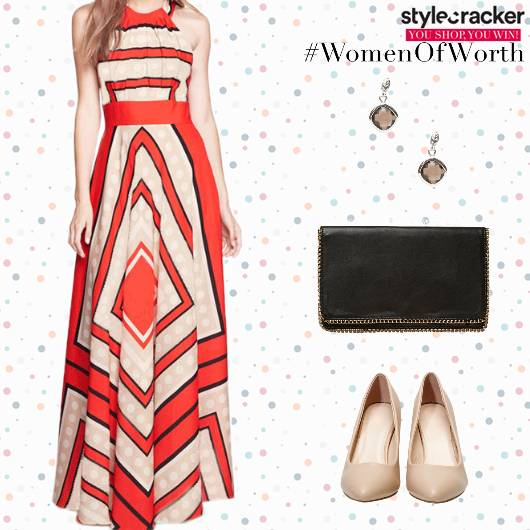 Party MaxiDress Clutch Earrings - StyleCracker