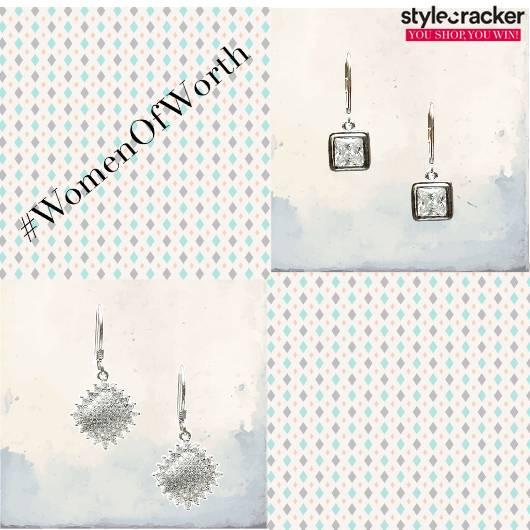 SCLoves Drop Earrings - StyleCracker