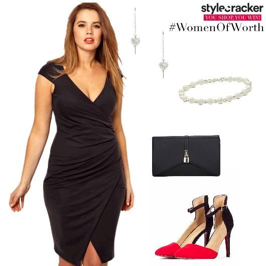 Bodycondress Heels Clutch Party - StyleCracker