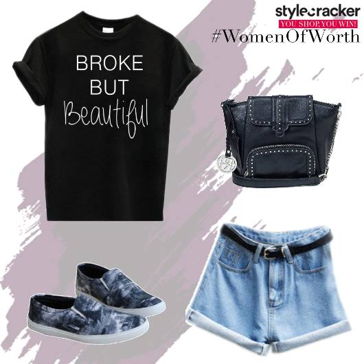 Casual CollegeWear BasicTee Shorts - StyleCracker