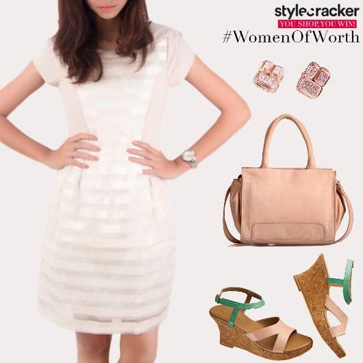 Formal Lunch Dress Wedges - StyleCracker