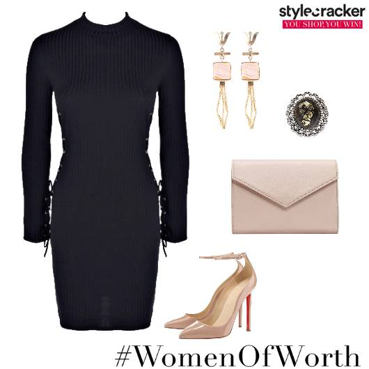 Bodycon FullSleeves Night Party - StyleCracker