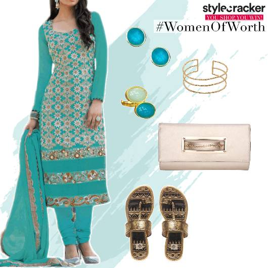 SalwarSuit Indian Ethnic Festive - StyleCracker