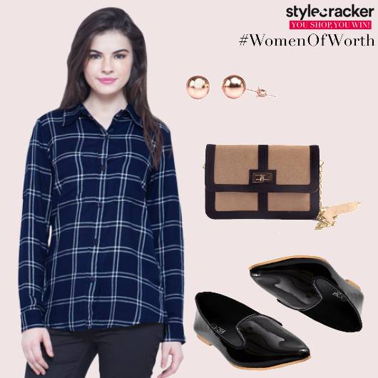 Casual Shirt Denims Checks  - StyleCracker