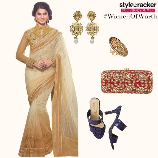 Saree Clutch Indian Festive Ethnic - StyleCracker