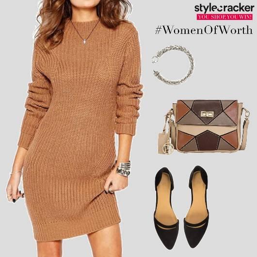 SweaterDress Casual DayOut  - StyleCracker