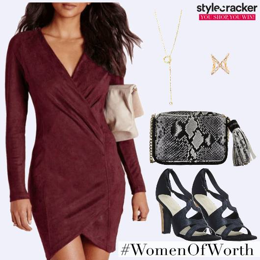 Bodycon Party Snakeskin Necklace  - StyleCracker