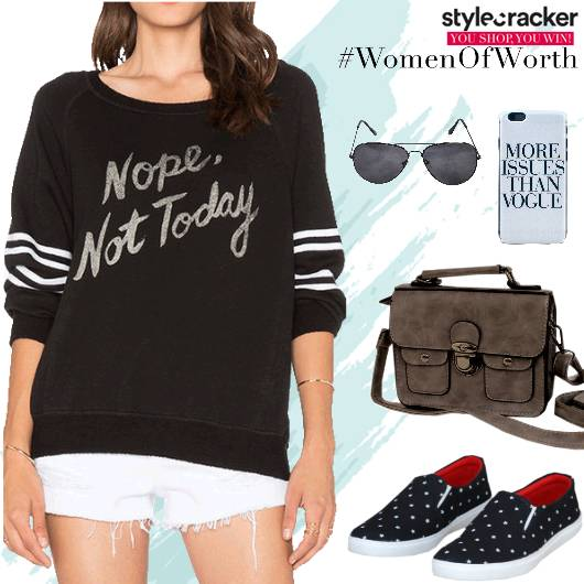 Casual Daywear Sweatshirt Keds - StyleCracker