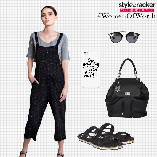 Dungaree Flats Backpack Backtoschool - StyleCracker