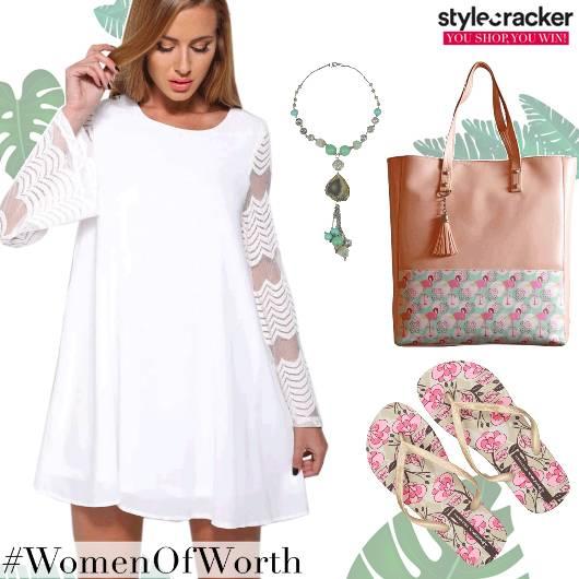 Casual BeachWear Dress FlipFlops - StyleCracker