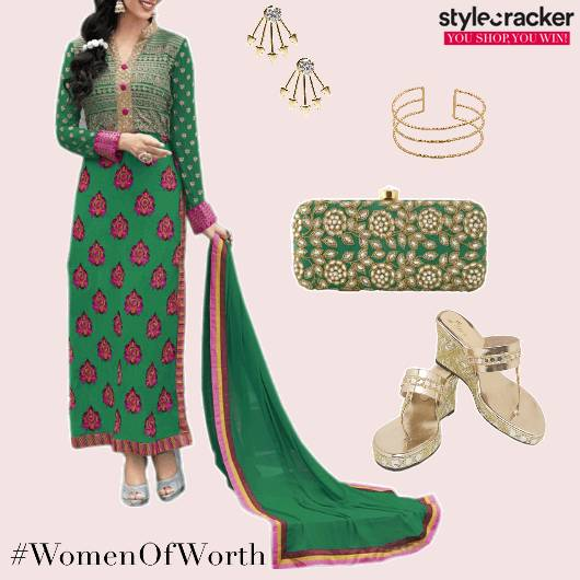 Suit Indian Ethnic Festive Casual - StyleCracker