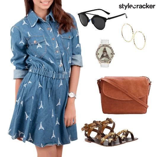Denim Dress Casual Summer - StyleCracker