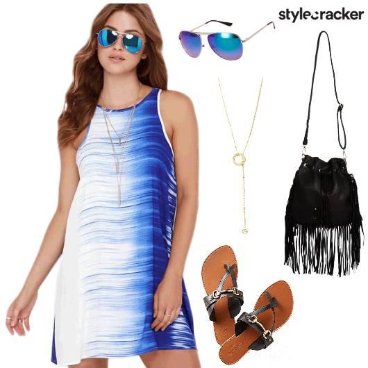 Ombre Dress Summer Beach - StyleCracker