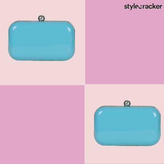 SCLOVES  Box Clutch  - StyleCracker