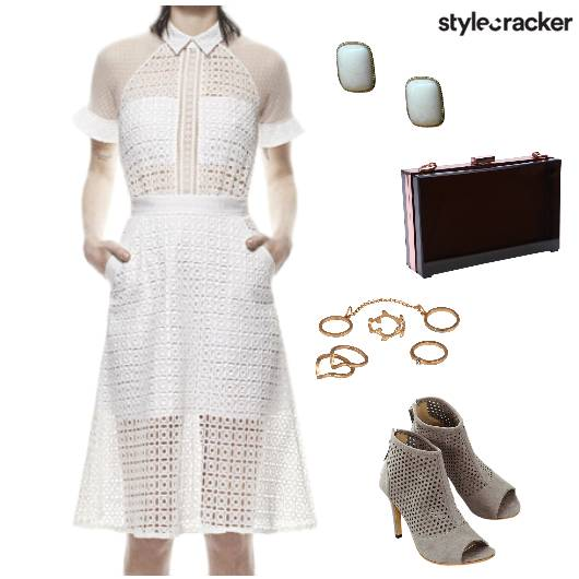 Mesh Dress Night Party - StyleCracker