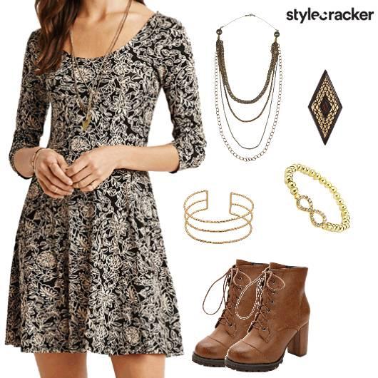 Print Dress Skirt Top Summer - StyleCracker