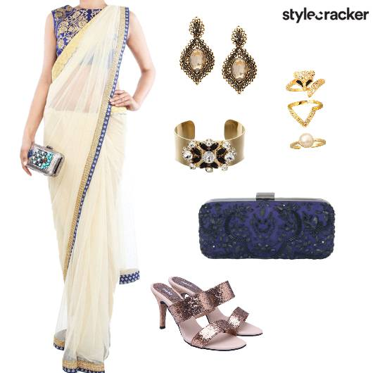 Saree Indian Ethnic Festive - StyleCracker