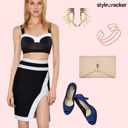 TwinSet Skirt PeepToeHeels Event  - StyleCracker