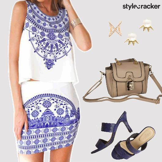 Day Brunch TwinSet Skirt Top - StyleCracker