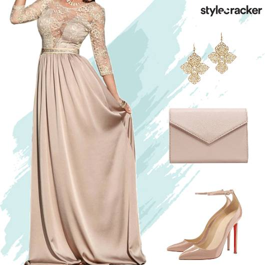 Formal Party Gown EnvelopeClutch  - StyleCracker