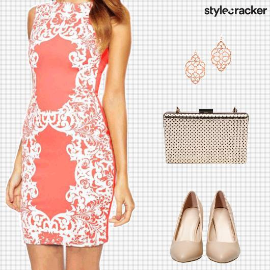 Day Party PrintedDress - StyleCracker