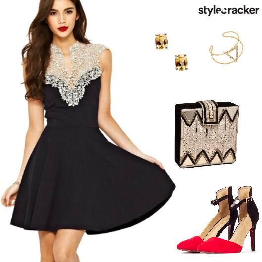 Party Formal LBD Lace - StyleCracker