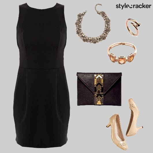 BodyconDress Dinner LBD - StyleCracker