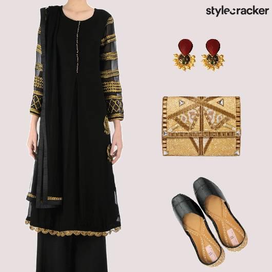 Festive Ethnic Indian PalazzoPants - StyleCracker