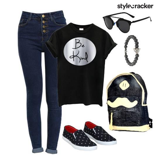 Casual TShirt College Basics - StyleCracker
