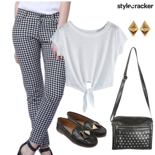 Pants CropTop  Casual - StyleCracker