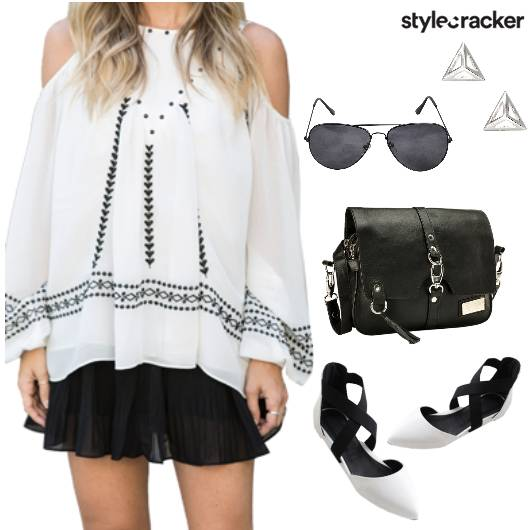 DropShoulder Top Shorts Summer - StyleCracker